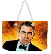 Rowan Atkinson Alias Johnny English Weekender Tote Bag