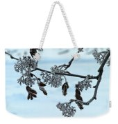 Rowan In Winter Weekender Tote Bag