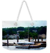 Rowboats Piled At Dock Weekender Tote Bag