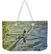 Rowing Crew Weekender Tote Bag by Bill Cannon