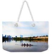 Rowing In Philadelphia Weekender Tote Bag