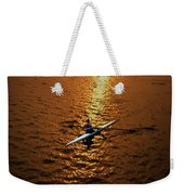 Rowing Into The Sunset Weekender Tote Bag
