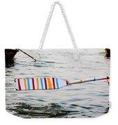 Rowing Oar Weekender Tote Bag