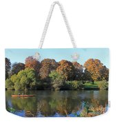 Rowing On The River Thames At Hampton Court London Weekender Tote Bag