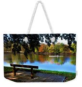 Rowing The River Itchen Weekender Tote Bag