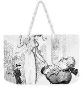 Rowlandson: Cartoon, 1810 Weekender Tote Bag