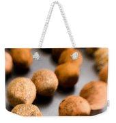 Rows Of Chocolate Truffles On Silver Weekender Tote Bag