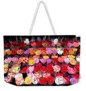 Rows Of Roses Weekender Tote Bag