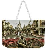 Roy And Minnie Mouse Antique Style Walt Disney World Weekender Tote Bag