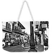 Royal Afternoon Monochrome Weekender Tote Bag