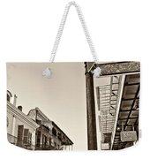 Royal Afternoon Sepia Weekender Tote Bag