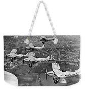 Royal Air Force Formation Weekender Tote Bag