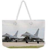 Royal Air Force Typhoon Aircraft  Weekender Tote Bag