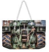 Royal Army Bulldozer Weekender Tote Bag by Yhun Suarez