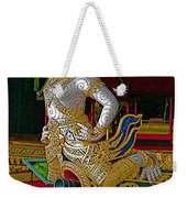 Royal Barges Museum In Bangkok-thailand Weekender Tote Bag