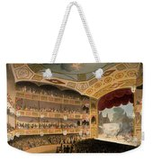 Royal Circus From Ackermanns Repository Weekender Tote Bag by T. & Pugin, A.C. Rowlandson