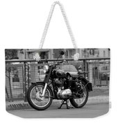 Royal Enfield Goes Berlin Weekender Tote Bag