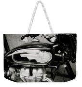 Royal Enfield Motorbike Weekender Tote Bag