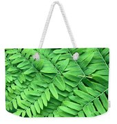 Royal Fern  Frond Detail Weekender Tote Bag