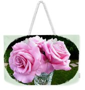 Royal Kate Roses Weekender Tote Bag by Will Borden