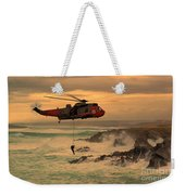 Royal Navy Rescue  Weekender Tote Bag