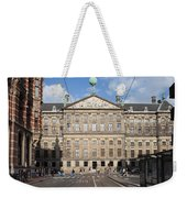 Royal Palace From Raadhuisstraat Street In Amsterdam Weekender Tote Bag