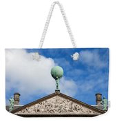 Royal Palace In Amsterdam Architectural Details Weekender Tote Bag