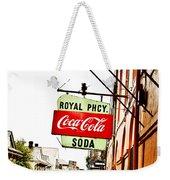 Royal Pharmacy Soda Sign Weekender Tote Bag