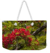 Royal Poinciana Weekender Tote Bag