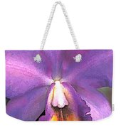 Royal Purple Cattleya Orchid Weekender Tote Bag