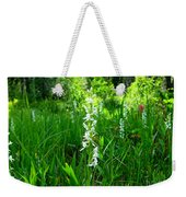 Royal Rain Orchid Weekender Tote Bag