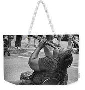 Royal Street Clarinet Player New Orleans Weekender Tote Bag