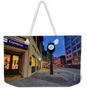 Royal Street Clock Weekender Tote Bag
