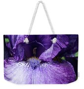 Royale Purple Petals Weekender Tote Bag