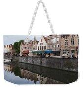 Rozenhoedkaai Bruges Weekender Tote Bag