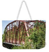 Rt 66 Bridge In Oklahoma Weekender Tote Bag