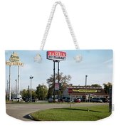 Rt 66 Chenoa Illinois Weekender Tote Bag