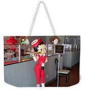 Rt 66 Dwight Il Betty Boop Weekender Tote Bag