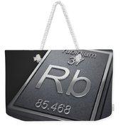 Rubidium Chemical Element Weekender Tote Bag