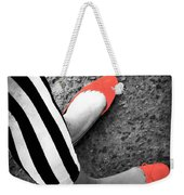 Rubies  And Stripes  Weekender Tote Bag