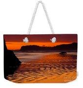 Ruby Beach Afterglow Weekender Tote Bag