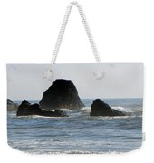Ruby Beach Sea Stack Weekender Tote Bag