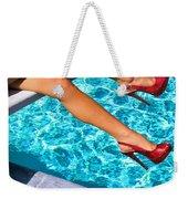 Ruby Heels Not In Kansas Palm Springs Weekender Tote Bag