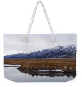 Ruby Marsh In Winter Weekender Tote Bag