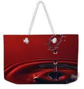 Ruby Red Weekender Tote Bag