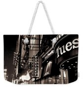 Ruby Tuesday's Times Square - New York At Night Weekender Tote Bag