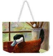 Ruddy Duck Decoy Weekender Tote Bag