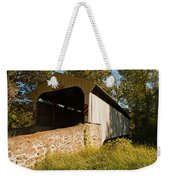 Rudolph Arthur Covered Bridge Weekender Tote Bag