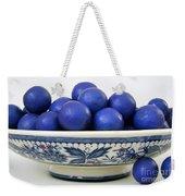 Rudraksha Tree Seeds In Vintage Dish Weekender Tote Bag