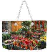Rue Cler Flower Shop Weekender Tote Bag